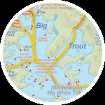 Big Trout Bonanza Map Insert