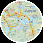 Southern Teardrop Map Insert